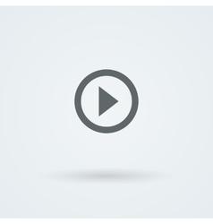 Minimalistic icon of sound vector