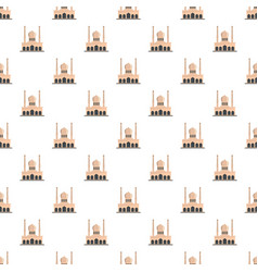 mosque pattern seamless vector image