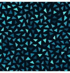 Seamless Blue Shades Jumble Triangles vector