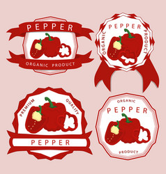 The theme pepper vector