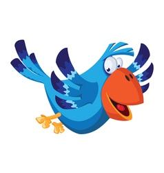 funny bird vector image vector image