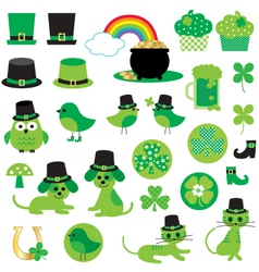 st patricks day clipart vector image