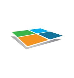 window abstract vector image