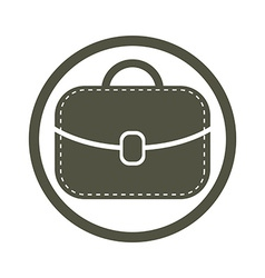 Bag icon woman purse vector