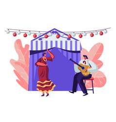 cinco de mayo festival latin folk music vector image