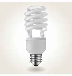 Energy saving bulb vector