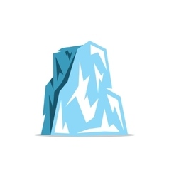 Iceberg Cartoon vector image