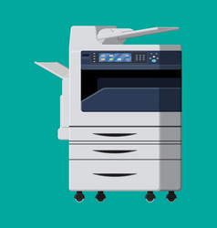 office multifunction machine vector image