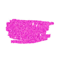 Pink sparkling brush strokes vector