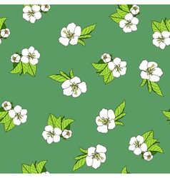 Stock seamless background with hand drawn vector image