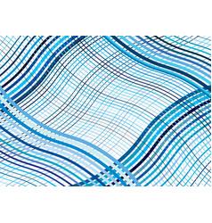Wavy waving texture pattern grid mesh lines vector