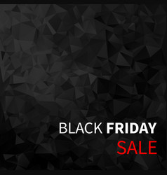 black friday sale design black friday vector image