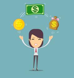 financial advisor vector image
