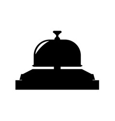 Hotel ring bell vector