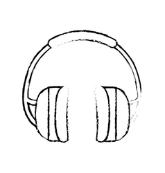 Isolated construction earmuffs vector