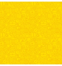 Line Learning Yellow Tile Pattern vector