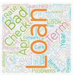No credit check personal loans when credit weighs vector