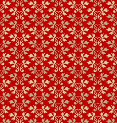 ornamental wallpaper vector image vector image
