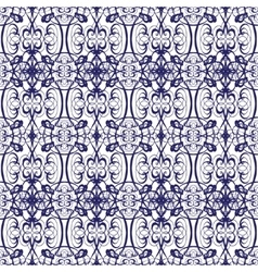 thai floral decorative ornament EPS vector image