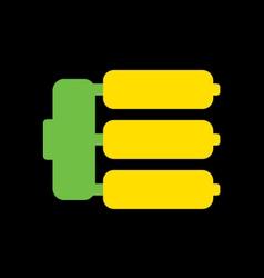 Abstract Banana vector image vector image