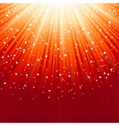 light burst and stars vector image vector image