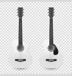 3d realistic classic old retro acoustic vector