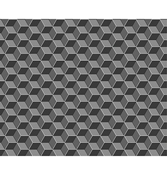 Abstract cubes seamless pattern vector image