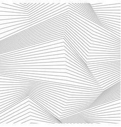 abstract grey 3d lines refraction vector image