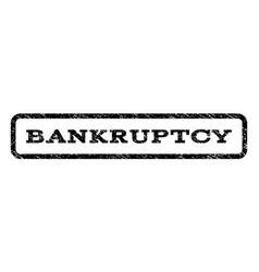 bankruptcy watermark stamp vector image