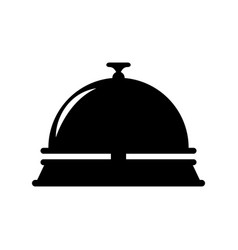 hotel ring bell vector image