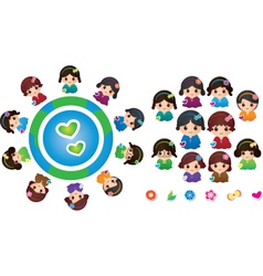 International Children vector