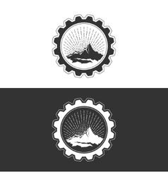 Mining Industry Design Element vector