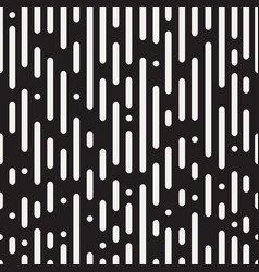 rounded lines seamless pattern vector image