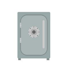 safe icon vevtor lock box bank security deposit vector image