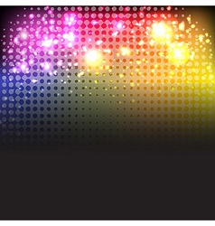 Bright Neon Lights Background vector