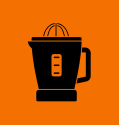 citrus juicer machine icon vector image