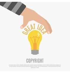 Copyright Compliance Design Concept vector