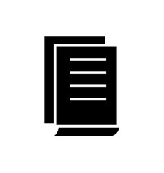 document contracts icon vector image
