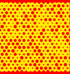 Dotted repeatable popart like duotone pattern vector