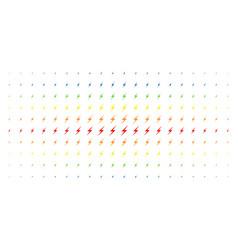 Lightning spectral halftone matrix vector