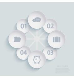 modern infographic element design Eps 10 vector image