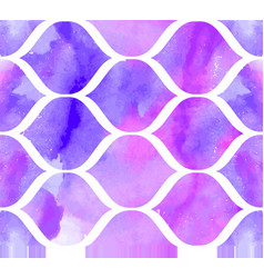 morrocan ornament purple colors vector image
