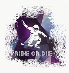 Snowboard icon design vector