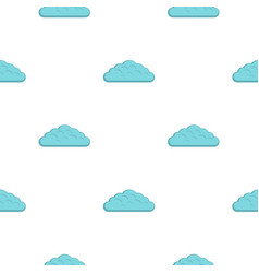 Spring cloud pattern flat vector