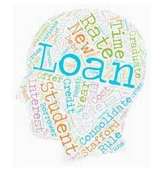 Student Loan Debt Strategies That Work text vector