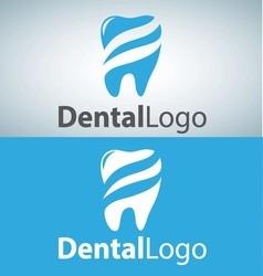 dental logo 7 vector image