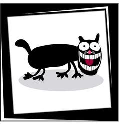 Funny Cartoon Dog Card vector image vector image