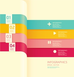 Modern soft color Design banner vector image