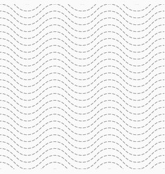 abstract seamless pattern dotted zigzag lines vector image