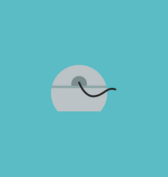 Floss icon flat element of vector